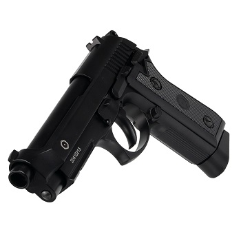 KWC x CyberGun PT99 Co² BlowBack (Semi & Auto) - Black