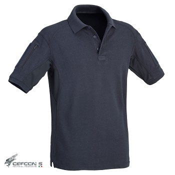 Defcon 5 ® Tactical Polo Shirt, Navy Blue - Gr. L