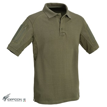 Defcon 5 ® Tactical Polo Shirt, Olive - Gr. XL
