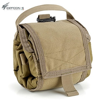 Defcon 5 ® Rollypoly Pack Bag Rucksack - Coyote Brown