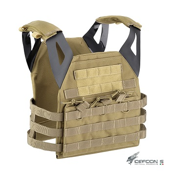 Defcon 5 ® Endurance Molle Plate Carrier - Coyote Brown