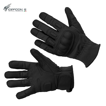 Defcon 5 ® Tactical Combat Kevlar Gloves, Black - Gr. L