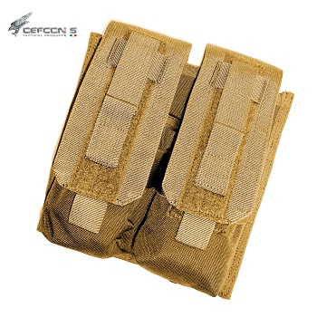 Defcon 5 ® Double AR Magazine Molle Pouch - Coyote Brown