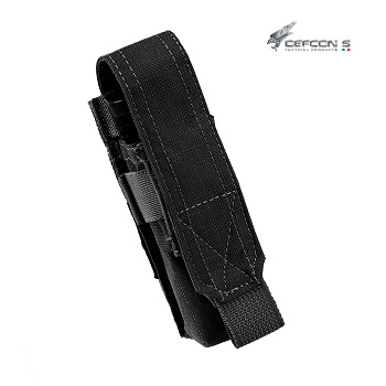 Defcon 5 ® Single Pistol Magazine Molle Pouch - Black