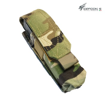 Defcon 5 ® Single Pistol Magazine Molle Pouch - MultiCam