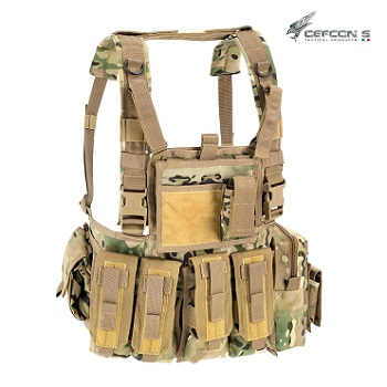 Defcon 5 ® Molle Recon Chest Rig - MultiCam