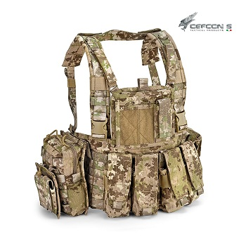 Defcon 5 ® Molle Recon Chest Rig - MultiLand