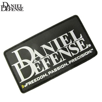 Daniel Defense ® Logo PVC Patch