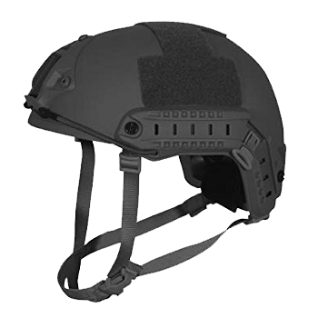 "Ballistischer Einsatzhelm FAST Level IIIA ""high cut"" - Black"