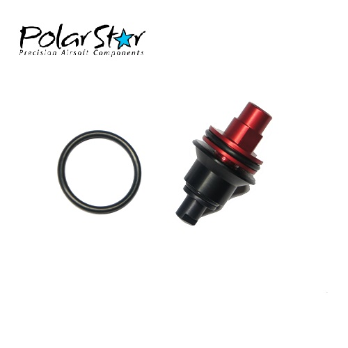 PolarStar Low Flow Poppet für HPA Fusion Engine - Red