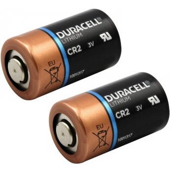 Duracell CR2 Lithium Battery - 2er Pack