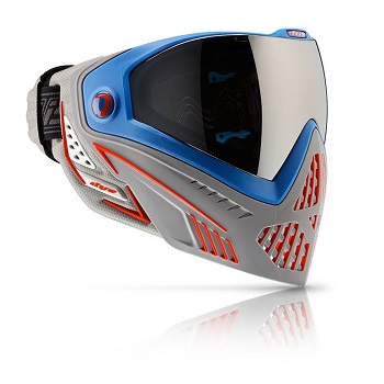 DYE i5 Thermal Maske - Patriot Blue/Red