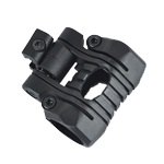 Element 5 Position Flashlight Mount - Black