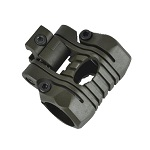 Element 5 Position Flashlight Mount - Olive