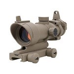Emerson ACOG Type 4x32 Scope & Iron Sights - FDE