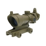 Emerson ACOG Type RedDot Sight & IronSight - FDE