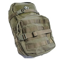 Emerson Molle Hydration Assault Pack Rucksack - Foliage Green