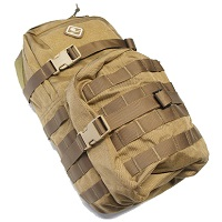 Emerson Molle Hydration Assault Pack Rucksack - Coyote Brown
