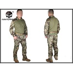 "Emerson ACU Gen. II Hose & Shirt ""Kryptek Mandrake"" - Gr. XL / W 36"