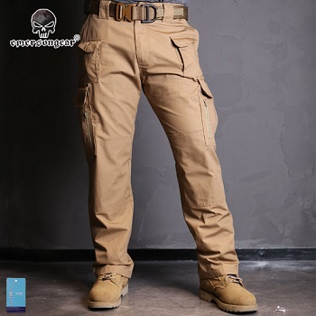 "Emerson Tactical Hose ""Coyote Brown"" - Gr. XL / W 36"