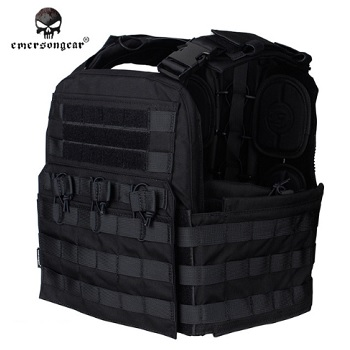 Emerson CP Style CPC Tactical Molle Weste - Black