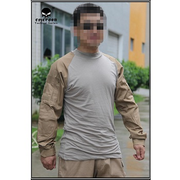 "Emerson ACU Combat Shirt ""Coyote"" - Gr. S"