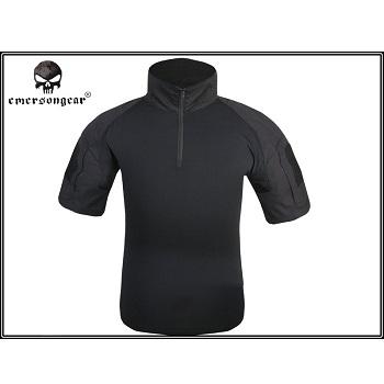 "Emerson ACU Combat Shirt, Kurzarm ""Black"" - Gr. S"