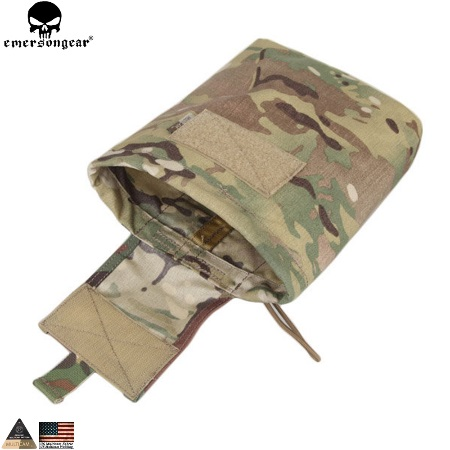 Emerson Folding Magazine Dump Pouch - MultiCam