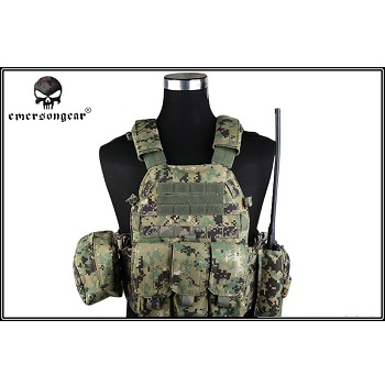 Emerson 6094A Style Plate Carrier Set - NWU III / AOR2