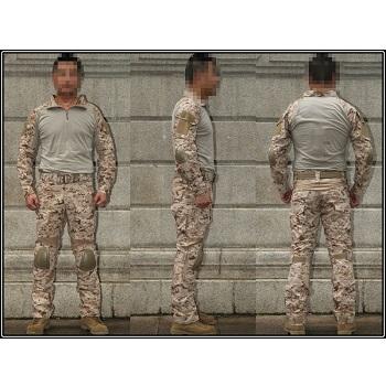 "Emerson ACU Set Gen. II Hose & Shirt ""NWU II / AOR1"" - Gr. XL / W 36"