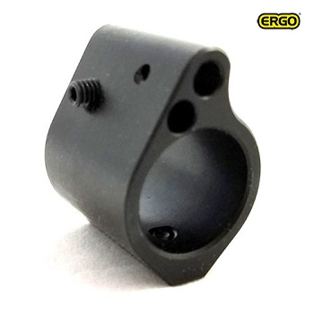 Ergo ® Low-Pro Adjustable Gas Block .750 für AR-15 / M4