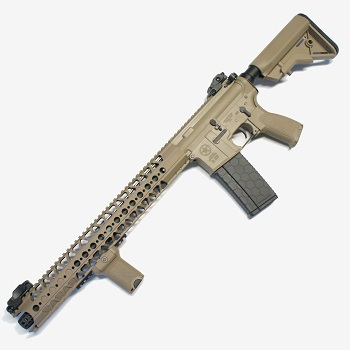 "Dytac x Lone Star M4 LVOA Carbine ""Wire Cutter"" AEG 16.2"" - Dark Earth"