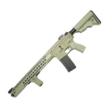 "Dytac x Lone Star M4 LVOA Carbine  ""Wire Cutter"" QSC AEG 16.2"" - Foliage Green"