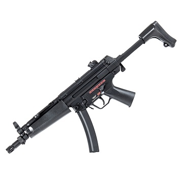 Jing Gong MP5 A5 AEG Set - Black (BattleCity Edition)