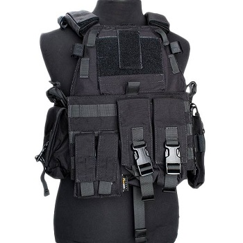 F.F.I. 6Z94 Type UW Plate Carrier Set - Black