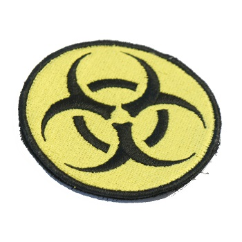 F.F.I Biohazard Logo Patch