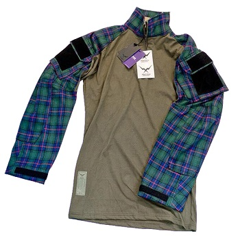 F.F.I. GEN3 TAC Lumberjacks Shirt, Green - Gr. XL
