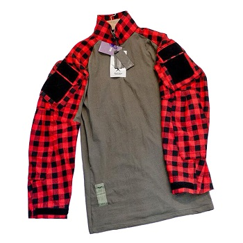 F.F.I. GEN3 TAC Lumberjacks Shirt, Red - Gr. XL