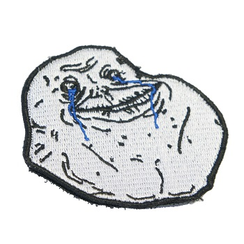 "F.F.I Meme Patch ""Forever Alone"""
