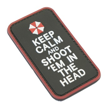 "F.F.I. Umbrella ""Keep Calm"" PVC Patch"