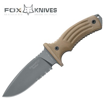 FOX ® Knives Tora Tactical Knife - Desert