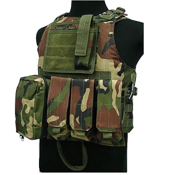 "PHX Plate Carrier / Weste ""FSBE Style"" Basic - Woodland"