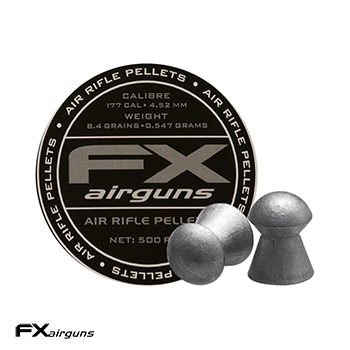 FX Airguns Pellets 4.5mm / .177 Diabolos (8.44 grains) - 500rnd
