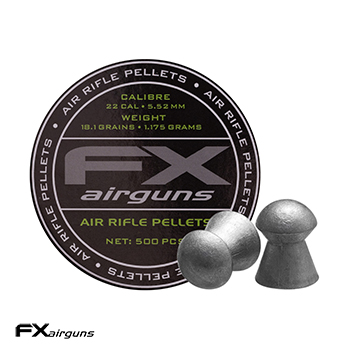 FX Airguns Pellets 5.5mm / .22 Diabolos (18.10 grains) - 500rnd