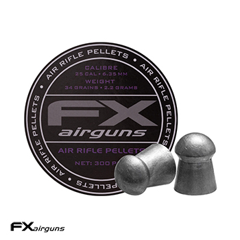 FX Airguns Pellets 6.35mm / .25 Diabolos (34.00 grains) - 300rnd