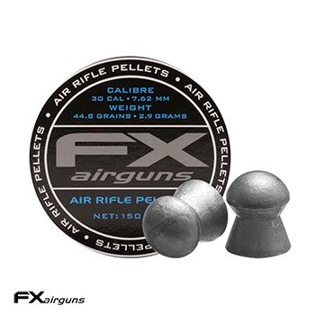 FX Airguns Pellets 7.62mm / .30 Diabolos (44.74 grains) - 150rnd