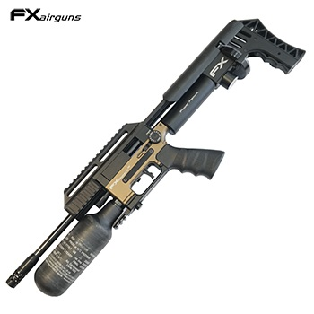 "FX Airguns ""the Impact MKII Power Plenum - Compact, Bronze"" HPA Luftgewehr 7.62mm Diabolo - 105 Joule"