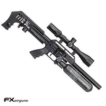 "FX Airguns ""the Impact MKII Power Plenum - Black"" HPA Luftgewehr 7.62mm Diabolo - 105 Joule"