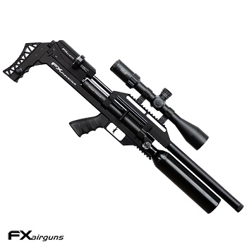 "FX Airguns ""the Maverick - VP Edition Power Plenum - Black"" HPA Luftgewehr 5.5mm Diabolo - 90 Joule"