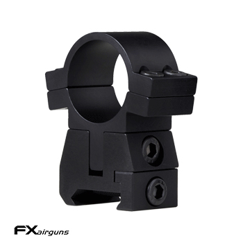 FX Airguns No Limit Montageringe (Ø 25mm) für Picatinny Schienen